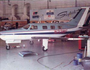 Inside Skytech's Hangar