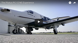 PC-12 NG experience video