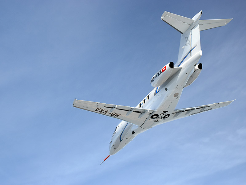 Pilatus PC-24 Belly