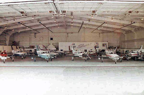 Skytech hangar 1996