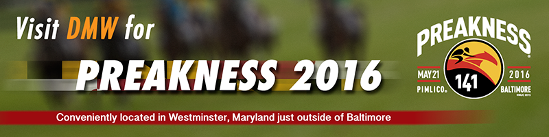 DMW for Preakness 2016  banner