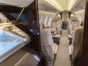 Pilatus PC-24 Veil interior option