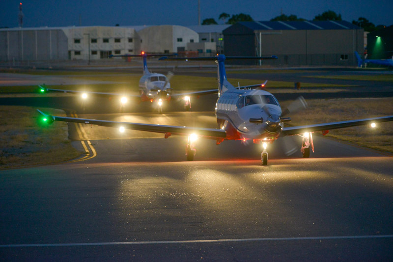 pilatus pc-12 lit up