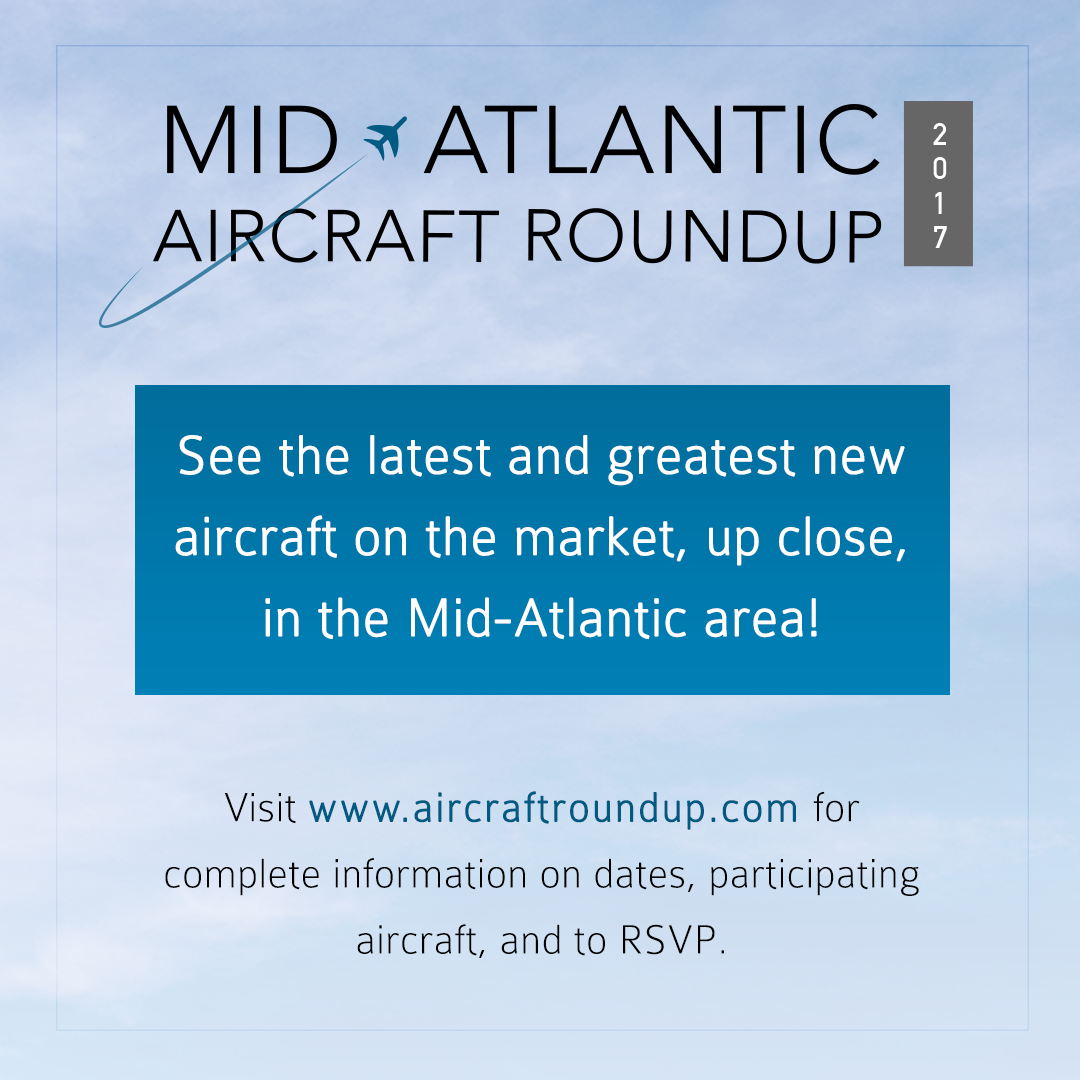 2017 Mid-Atlantic Aircraft Roundup