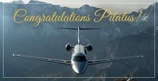Congratulations Pilatus