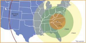 CHARLOTTE RANGE MAP