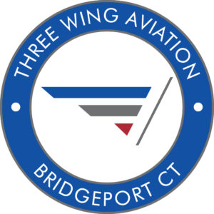 Three Wing Aviation Logo